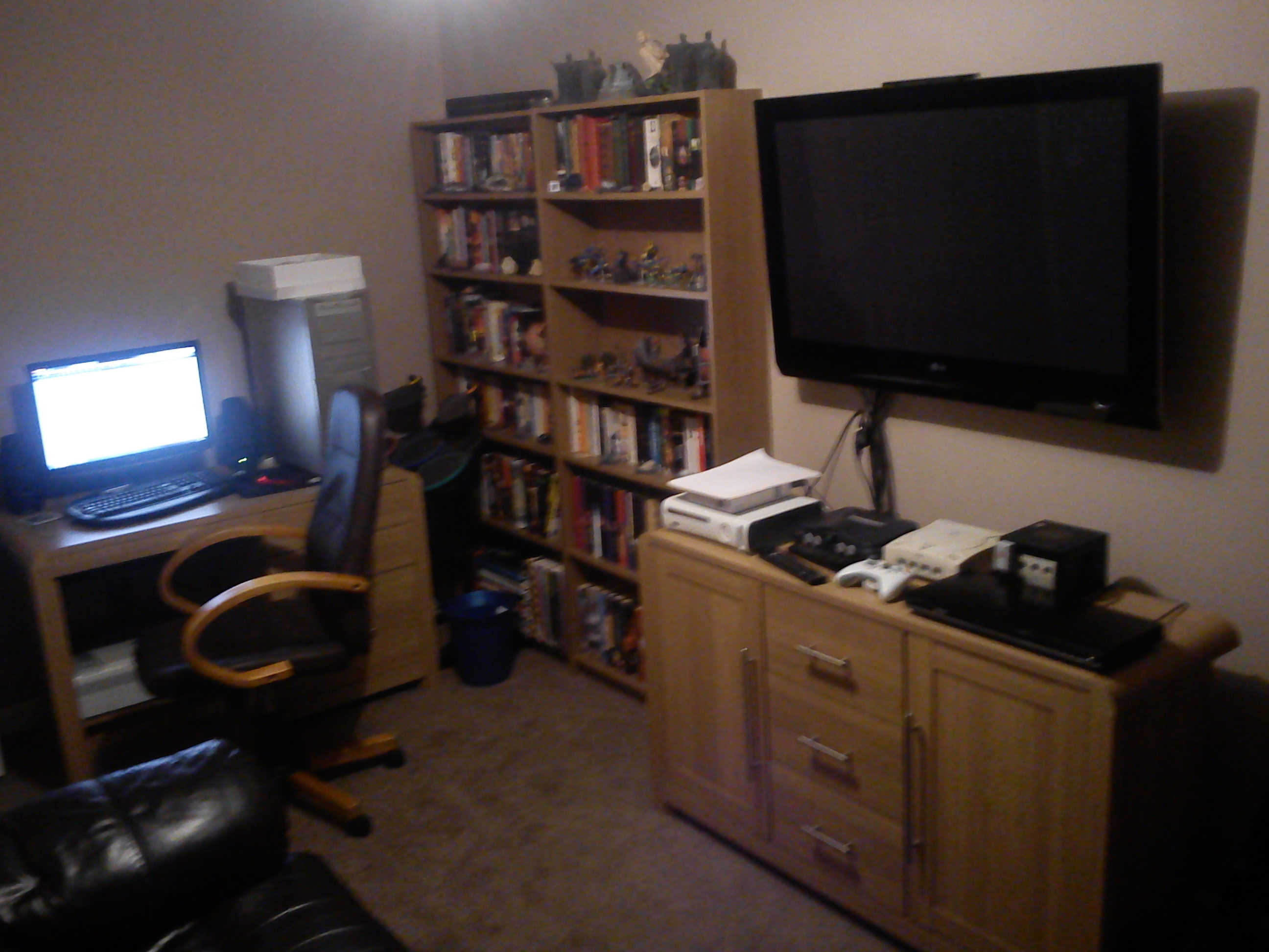 Man Cave Computer Room : All hail the man cave