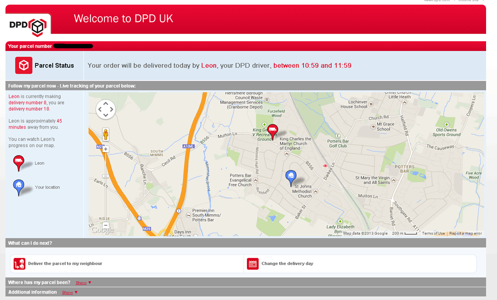 Dpd Tracking Map Wow. Well done DPD. Dpd Tracking Map