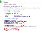 Can you change order of your websites pages on Google search results?-searchresults.jpg
