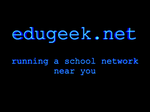 The Great EduGeek T-Shirt competition of 2006 (Prizes kindly-edugeek1.png