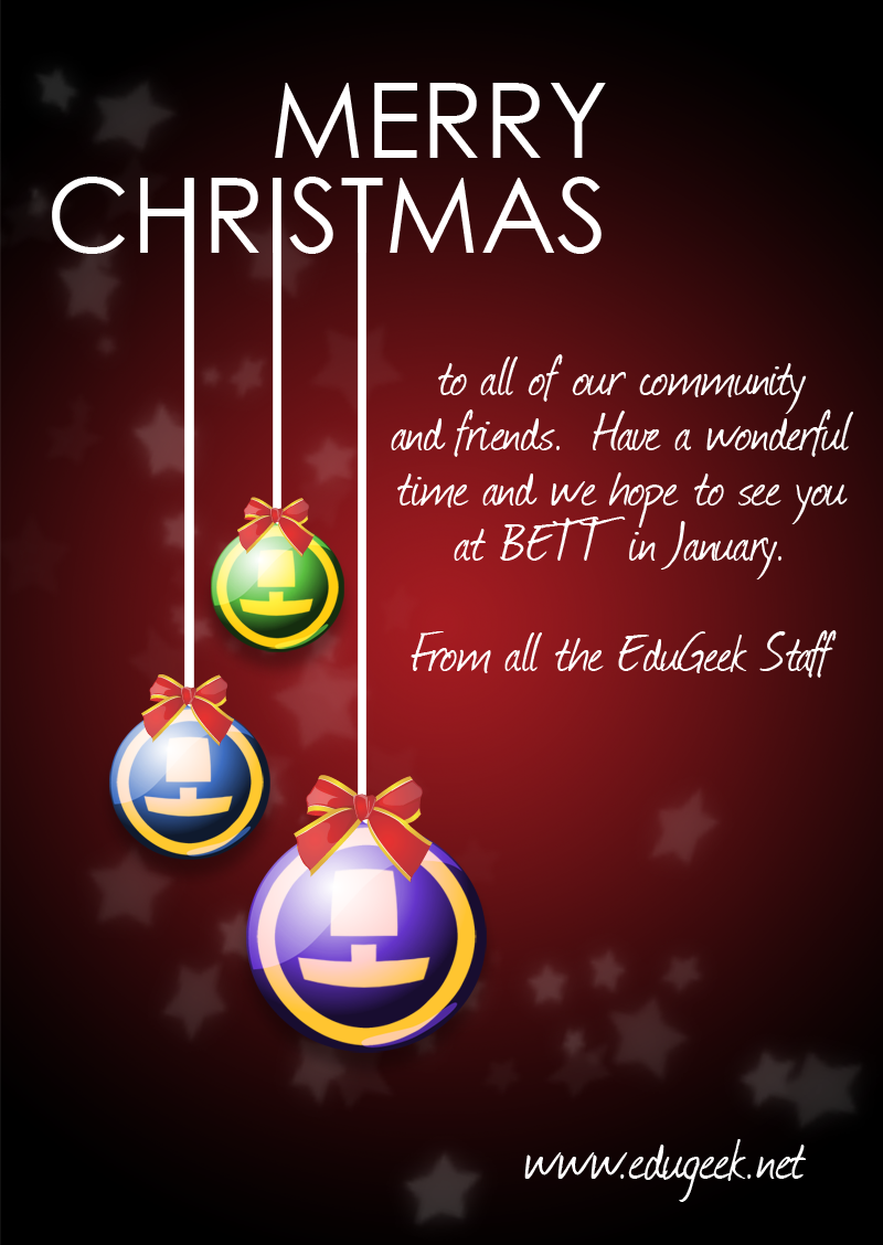 The Edugeek Christmas Message