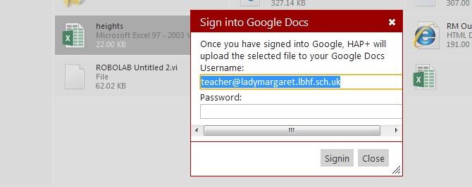 Google Docs - Pre Populate google docs prompt with username