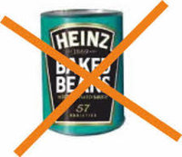Baked beans are truly a vile creation, with their weird slimy bean juice and horrible texture. They are the ruiner of a full english breakfast