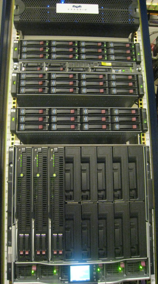 new vmware enviroment - soon to be running almost all our servers in london