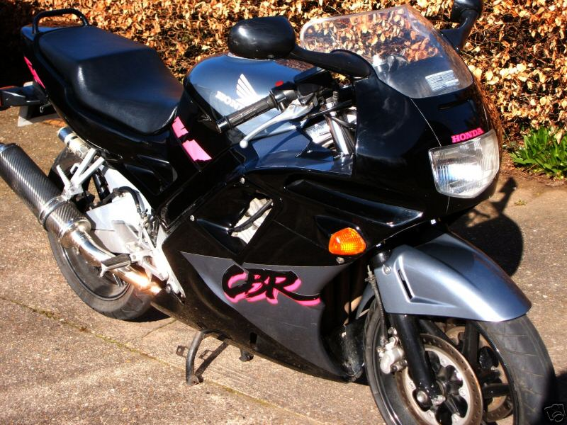 The CBR from the front...