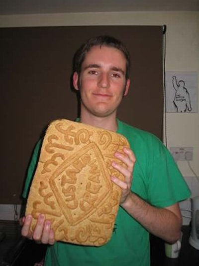 wow a large custard cream