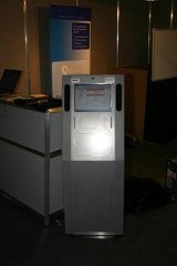 A Lapsafe kiosk that was lent to us