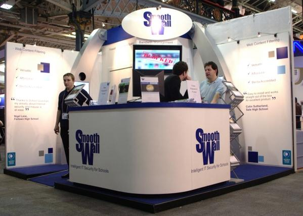 The Smoothwall stand (oh what lovely people :D)